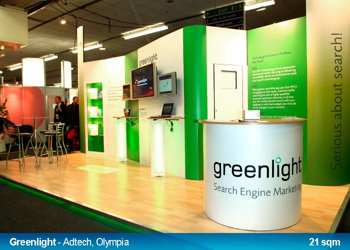 Marketing Exhibition Stand Example : Digital colour printing for pop up exhibition stands