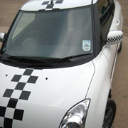 Suzuki Swift  roof and bonnet stripes