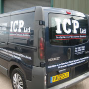 commercial van signs