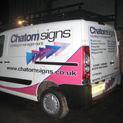 Full colour van graphics