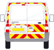 Ford Transit reflective graphics