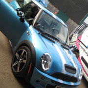 Mini Cooper S Viper stripes