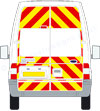 Ford Transit High Roof reflective graphics