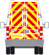 Iveco Daily Hi Roof reflective graphics