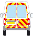 LDV Maxus reflective graphics