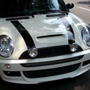 Mini Cooper Decals and stripes