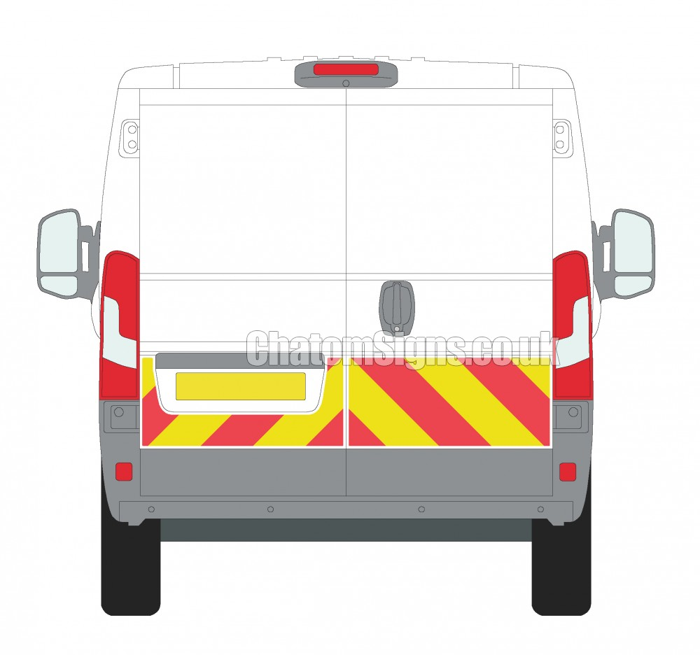 Ducato H1 (Standard Roof)  Qtr Kit