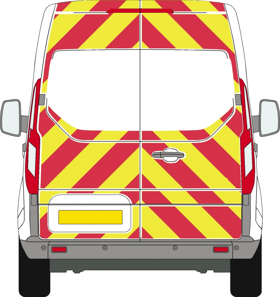Transit Custom High Roof 3-Qtr Kit