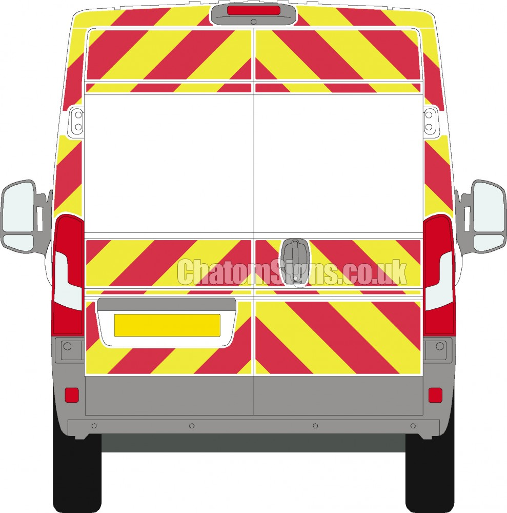 Ducato H2 (High Roof)  3-Qtr Kit