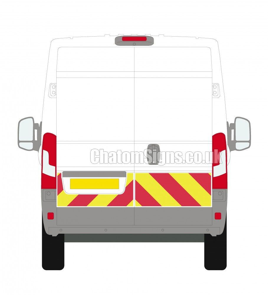 Ducato H2 (High Roof)  Qtr Kit