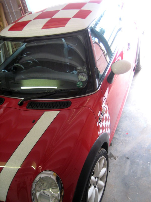 Classic Cheque Mini Roof and Side Panels