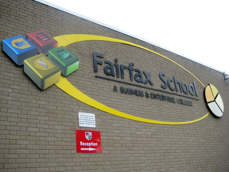 Large School Sign