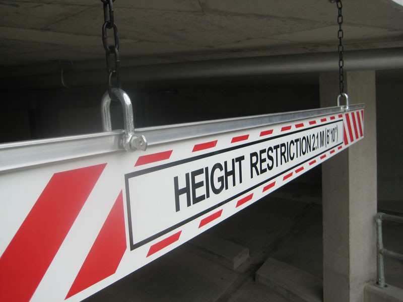 Car Park Height Restriction