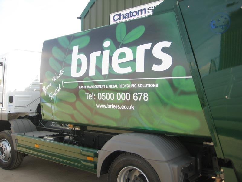 Briars Vehicle Signage